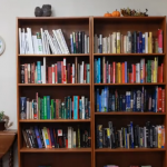 Organizing the Bookcase: A Quick Video for Inspiration (and a Smile)