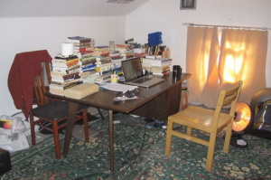 Yuvi Zalkow's home office