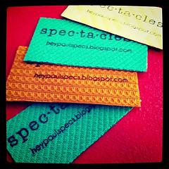 multi-color business cards