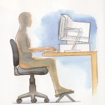 How to Set-up an Ergonomic Home Office: 3 Tips for Ache-free Shoulders and Back