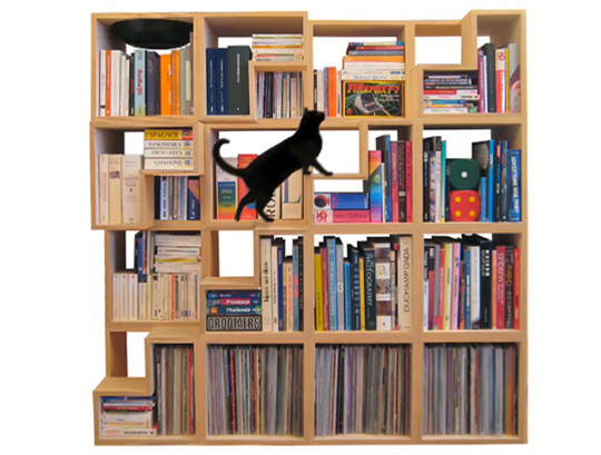 A Fun Way To Organize And Display Your Home Office Books