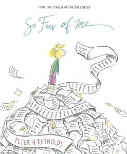 to do list  book cover so few of me peter h reynolds