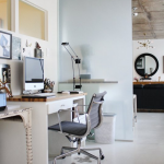 Home Office Design – Chair and Desk Out-of-sync – Looks Beautiful, Not Functional